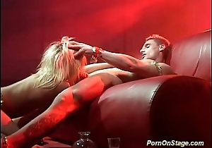 real sex on make noticeable stage