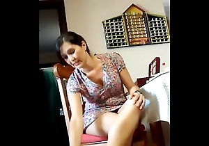 hidden cam - neighbor'_s legs - upskirt - HornySlutCams.com