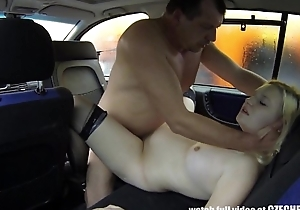 Young Hairy Facile Bitch Fucks for CASH