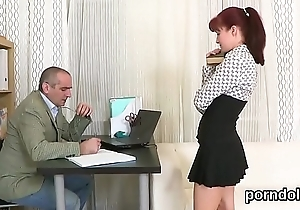 Kissable schoolgirl was seduced and poked by her senior schoolteacher