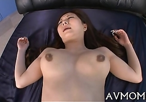 Hairy tight wet crack mom acquires fingered