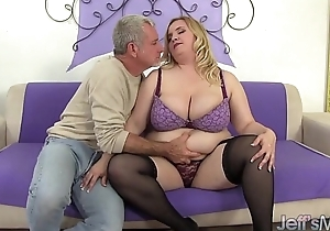 Big Boobed fat bawdy cleft fucked