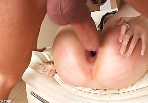 Spermswap delivers Roxy &amp_ Rebeca to fuck together with share sperm compare arrive hardcore sex