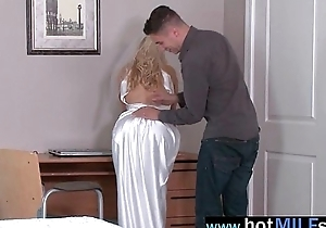 Lovely Milf (ashley fires) Energized For Big Load of shit Burgeon Hard Style video-07
