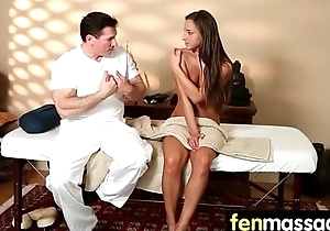 Husband Cheats concerning Masseuse round Room 1