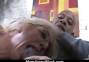 a great hardcore interracial making love with hot Milf 8