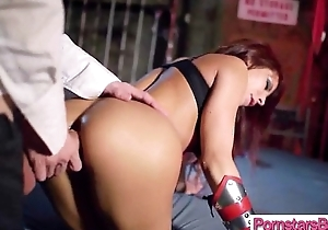 Sex Tape With Uncultivated Cock Stud Banging Hard Style A Pornstar (madison ivy) clip-20