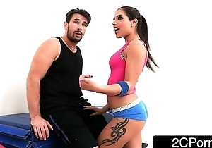 Tiny Latina Bombshell Jynx Labyrinth Fucked Up Their way First Class Yoga Ass