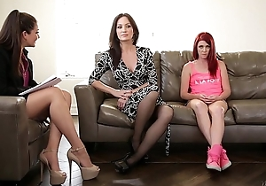 The Family Psychologist - Elle Alexandra, Allie Haze, Angela Sommers