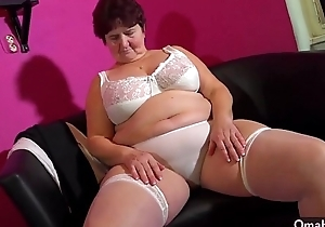 OmaHotel amateur full-grown granny compilation