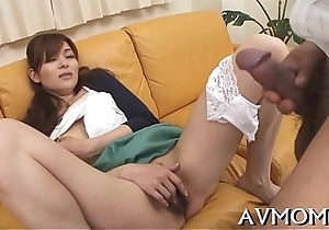 Oriental mother i'_d like to fuck loves sucking boloney