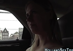 Real blonde prostitute rides