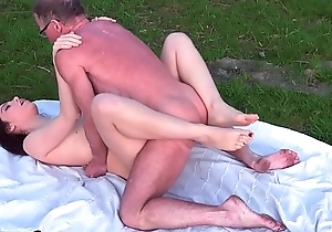 Fishing For Old Dick with beauty MMF