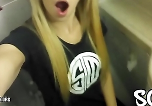 Blonde Public Masturbating Airplane Bathroom Dictatorial Amateur