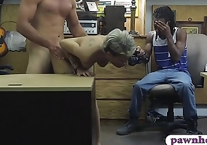 Black defy let the tooth preserver fuck his chap-fallen girlfriend