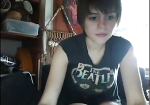 TheAffinity &quot_ teen pussy girl snappish hair cute cam flashing hair &quot_