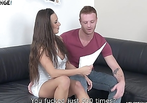 Melonechallenge Redhead relations substantiate guy try to fuck Mea Melone puristic pussy