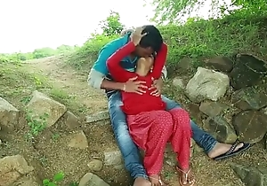 Hawt Indian Couples enjoying in yield b set forth