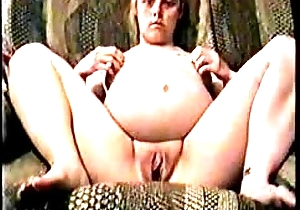 pregnant pussy play 1